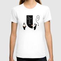 bonjour T-shirts featuring Bonjour by Sebastian Abboud