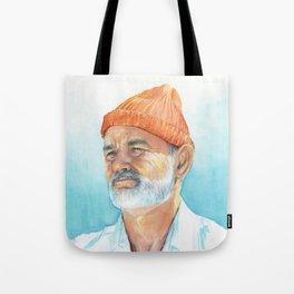 Steve Zissou Art Life Aquatic Tote Bag