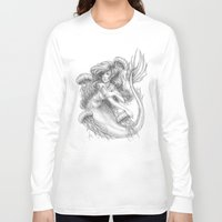 jellyfish Long Sleeve T-shirts featuring Jellyfish by Bea González