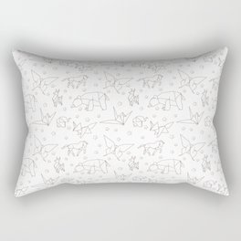Origami Rectangular Pillow