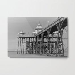 Clevedon Pier Metal Print