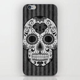 Día de los Muertos - Grey iPhone Skin