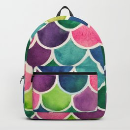 This Mermaid Life Bright by Andrea Backpack