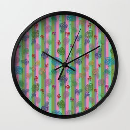 sea shell imagination  Wall Clock