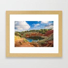 Otranto Framed Art Print