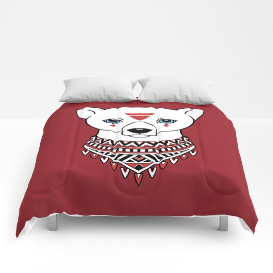 Tribal Bear Comforters