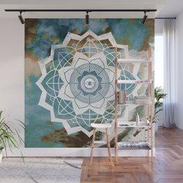 Nature Atmospheric Mandala Wall Mural