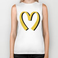 moschino Biker Tanks featuring McDonald's MOSCHINO by RickyRicardo787