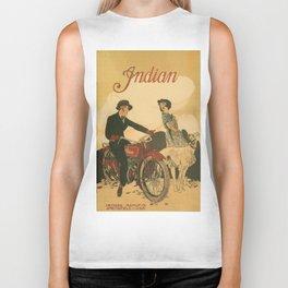Vintage poster - Indian Motorcycles Biker Tank