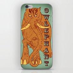 Owlephant iPhone & iPod Skin