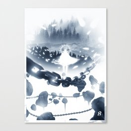 Peace Hunter Canvas Print