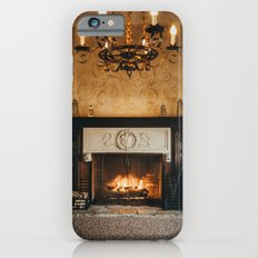 Cozy Fireplace iPhone 6s Slim Case