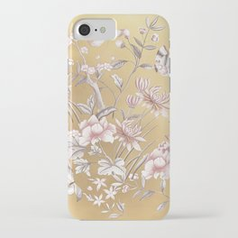 Chinoiserie Gold iPhone Case