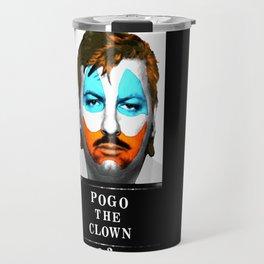 Pogo the Clown Travel Mug