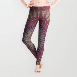Psychedelic Star Mandala Leggings
