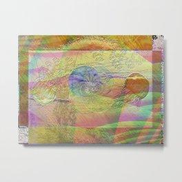 Coalescing Jellyfish Metal Print