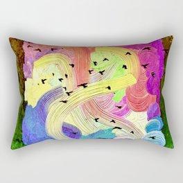 The Way of Spring Rectangular Pillow