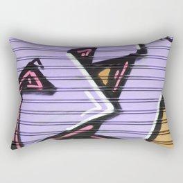 Street Art - Violet Urban Collection Rectangular Pillow