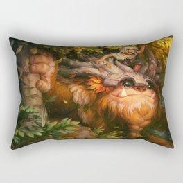 Sasquatch Nunu League Of Legends Rectangular Pillow