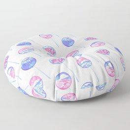 Ocean Blue Lollipop Floor Pillow