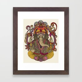 Lord Ganesha Framed Art Print