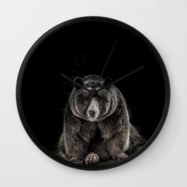 hello bear Wall Clock