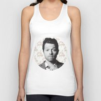 castiel Tank Tops featuring CASTIEL by Hands in the Sky