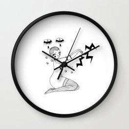 Sit For A Spell Wall Clock