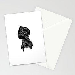 Jim Moriarty  - Sherlock Stationery Cards