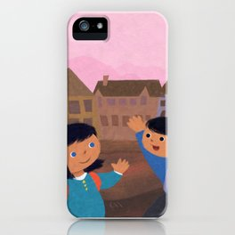 First Day of School iPhone Case