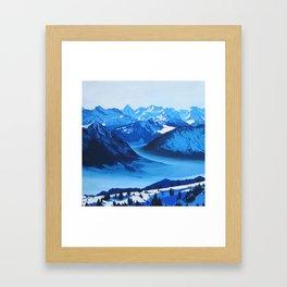 Rigi Framed Art Print