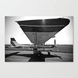 Sky Dive Airplane Canvas Print