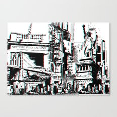 City That Inspires Canvas Print
