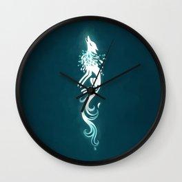 Light Fox Wall Clock
