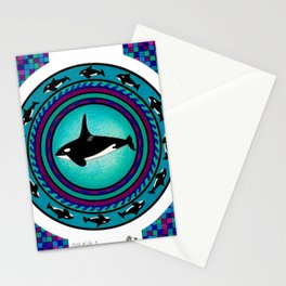 Circle of Life 4 / Whale Stationery Cards