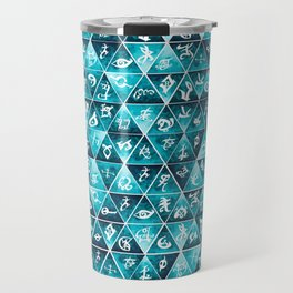 Shadowhunters Runes Mosaic Travel Mug