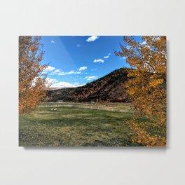 Glenwood Springs Foothills - CO Metal Print
