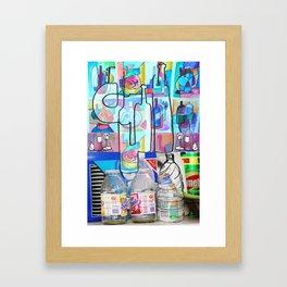 BOTTLE SYNECTICS2 #11 Framed Art Print