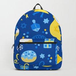 Hanukkah Holidays Joyous Pattern Backpack