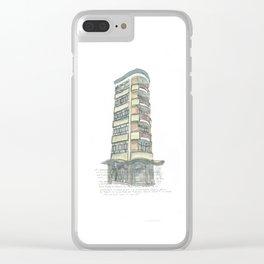 85 Victoria St. Wellington Clear iPhone Case