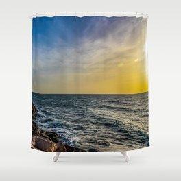 Sunset at Jaffa  Shower Curtain