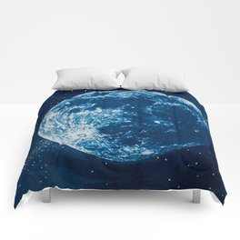 Big Blue Moon Comforters