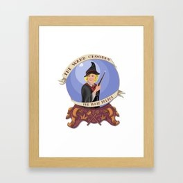 The Wand Chooses the Whiz Palace Framed Art Print