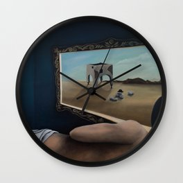 Beyond the Frame Wall Clock