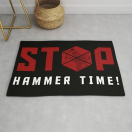 Stop. Hammer Time! Rug