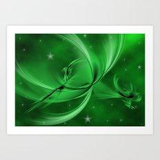 The marsh elves Art Print