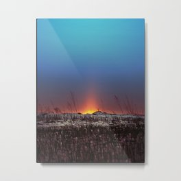 Winter Sun Rising Metal Print