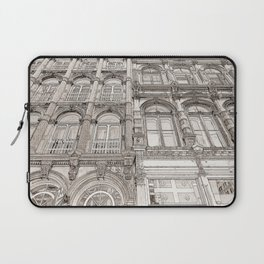 Facades - line art Laptop Sleeve