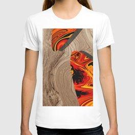 LAVA WOOD T-shirt