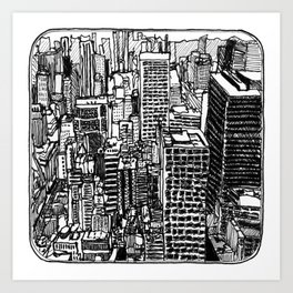 Back In The NYC Art Print